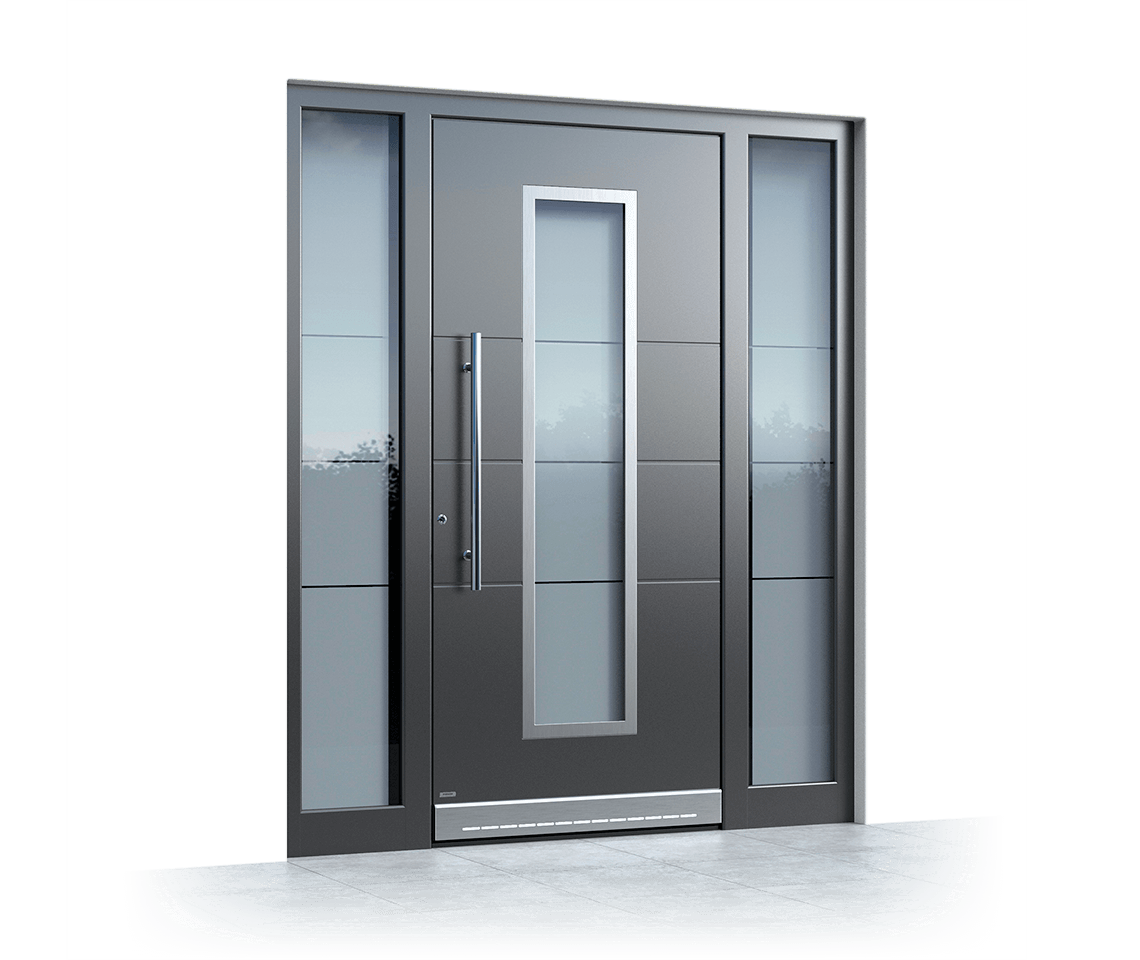 Aluminium entrance door 2380