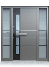 Aluminium entrance door 0130