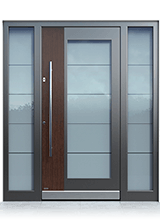 Aluminium entrance door 0141