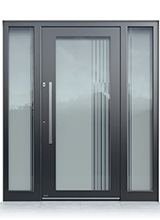 Aluminium entrance door 1005