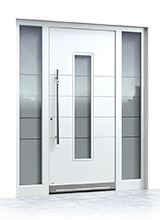 Aluminium entrance door 1033