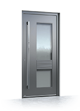 Aluminium entrance door 1050