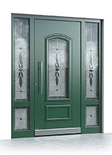 Aluminium entrance door 3142