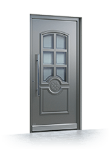 Aluminium entrance door 3280