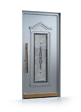 Aluminium entrance door 3290