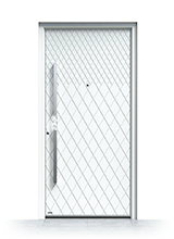 Aluminium entrance door 3310