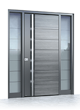 Aluminium entrance door 501