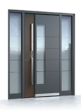 Aluminium entrance door 517A