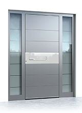 Aluminium entrance door 6005