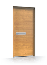 Wooden entrance door 6011