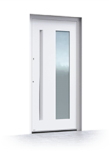 Aluminium entrance door 6015