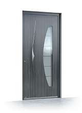 Aluminium entrance door 6019