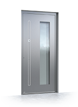 Aluminium entrance door 6023