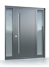 Aluminium entrance door 621