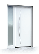 Aluminium entrance door 628