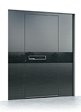 Aluminium entrance door 638